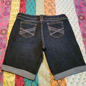 a.n.a denim jean shorts plus size 16 petite